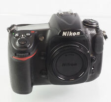 Nikon d300 12.3 mp SLR-cámara digital-negro (sólo carcasa) #4013683