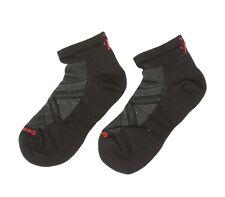 Smartwool Unisex Adults PhD Run Light Elite Low Cut Socks in Black 5901 Size L
