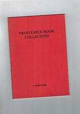 BENET Profitable Book Collecting - 1985 softback