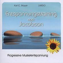 Entspannungstraining nach Jacobson - Progressive Muskelent...   CD   Zustand gut