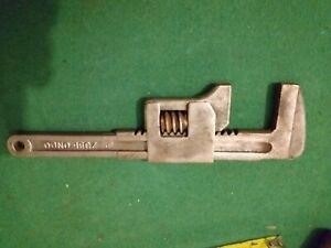 vintage Monkey wrench 9in stamped ZU81_ONDO Spain