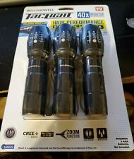 Bell + Howell Taclight High-Powered Tactical Flashlight - As Seen On TV - 3 PACK