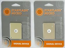(SET OF 2) Ultimate Survival Technologies/UST Starflash Micro Signal Mirror NEW