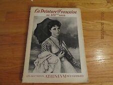 1942 LES DOCUMENTS ATHENAEUM PHOTOGRAPHIQUES La Peinture Francais Au XIX Siecle