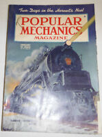 Popular Mechanics Magazine Turbine Locomotive January 1945 091414R