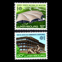 Luxembourg 1987 - EUROPA Stamps - Modern Architecture - Sc 769/70 MNH