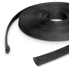 1€/m Geflechtschlauch Kabelschlauch Gewebeschlauch Kabelschutz GS Schlauch Kabel
