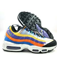 Nike Air Max 95 BHM Black History Month Multicolor Green CT7435-901 Men's 7-13