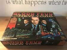 Blood Feud In New York Board Game. Rare HTF By Eagle Games