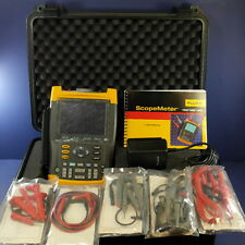 Brand New Fluke 199 200MHz Portable ScopeMeter Oscilloscope, Case, Original Box