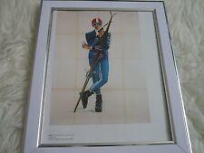 James bond 007 Collection Movie poster Tony nourman Framed Italian Secret Ski