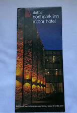 Dallas Northpark Inn Motor Hotel Brochure Texas 60's Convention Center
