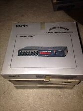 martec model EQ-7 Graphic Equalizer