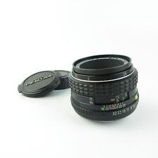 Pentax K PK smc Pentax-M Macro 1:4 50mm Objektiv lens + caps