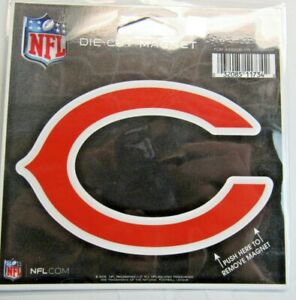 NFL Chicago Bears 4 inch Auto Magnet Die-Cut by WinCraft