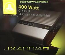 JL AUDIO JX400/4D Car Stereo 4 Channel Amplifier 400W Class D Speakers Amp NEW