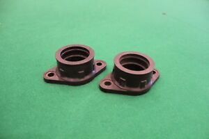 Two New Yamaha TZ250 G carburettor inlet manifolds 4A1-13555-00