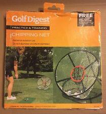 Golf Digest Chipping Net - Short Game Practice & Training - 24 inch Diameter