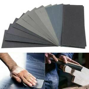 36 / 42 Stk Schleifpapier Set 120-3000 Körnung Sortiment Nass Sandpapier Blätte