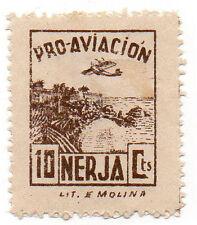 Sello Local Guerra Civil Nerja -Cat. Galvez 517.  ORD:1566