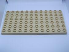 LEGO DUPLO @@ PLAQUE 4196 @@ PLATE 6 X 12 TENONS @@ BEIGE TAN