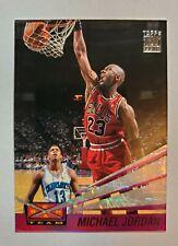 1993-94 Topps Stadium Club Michael Jordan Beam Team #4. Chicago Bulls HOF GOAT