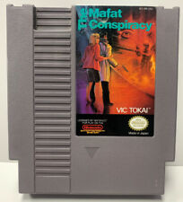 The Mafat Conspiracy for Nintendo NES Cartridge Only Authentic By Vic Tokai