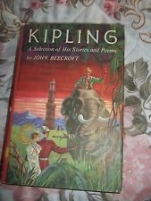 KIPLING~A selection of his stories and poems~Vol. 1~John Beecroft ~ Hardcover~EC