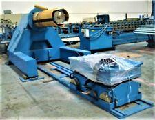 "Samesor Oy 20 mT(22t) Decoiler coil width 1350mm (53"") + 20mT(22t) coil car"