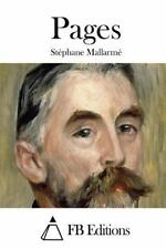 Pages by Stéphane Mallarmé (2015, Paperback)