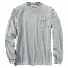 Carhartt Longsleeve Workwear Pocket T-Shirt L/S Heather Grey