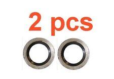 (2) Marli 22 mm Oil Drain Plug Gasket 5.9l Diesel Fits Dodge Ram Cummins