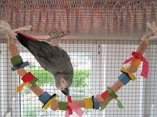Papageienspielzeug HANGING AROUND, aus reinen Naturmaterialien **papageienWOW***