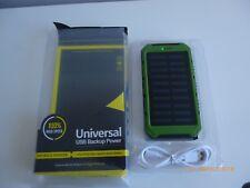 Universal 50000mah Solar Power Bank 2 USB 9 LED Battery Charger For Smart Phone