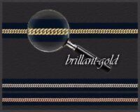 Halskette Collier 585 Gold Goldkette Panzer-Kette rund, Schmuck hochwertig, Neu