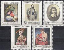 CSSR Nr. 2413-2417** Kunstwerke aus den Nationalgalerien