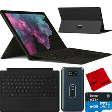 "Microsoft Pro 6 12.3"" LJM-00028 i5 Surface 8GB 256GB paquete de teclado cubierta tipo"