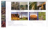 "2005 FDC. Australia. World Heritage. Globe PictFDI ""SYDNEY"""
