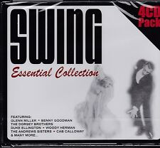 SWING - ESSENTIAL COLLECTION - VARIOUS ARTISTS on 4 CD'S -  NEW -