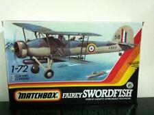 Matchbox Model Kit di Montaggio 1:72 40112 Fairey SWORDFISH Mk I / III MIB, 1983