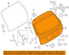 SUBARU OEM 15-16 Outback-Liftgate Tailgate Hatch Panel Skin 60809AL01B9P