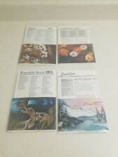 Bob Ross How To Painting Packet Pack of 4 - Vintage