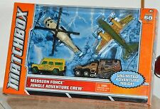 Matchbox 2013 60th Mission Force Jungle Adventure Crew Land Rover & Expedition
