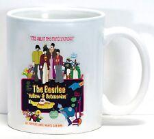 Beatles Vintage Yellow Submarine Poster Coffee Cup Collectible USA Mug Gift