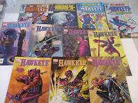 Marvel Hawkeye Comic Book Big Lot Superhero 1 2 3 4 5 6 7 8