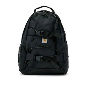 NEW Carhartt Wip Backpack Kickflip Backpack Black Everyday Backpack Board Holder