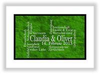 Geschenkidee Hochzeit berühmte Paare Partner Bild Poster Jahrestag Mann Frau