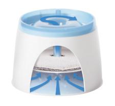 Catit Fontaine à Eau pour Chat Compacte 2 Litres (50053) Blanc