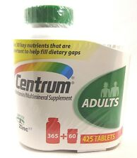 Centrum® Multi Vitamin Mineral Complete A to Zinc 425 Tablets Adults Under 50