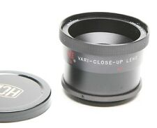 HCE Vari-Close-Up Lens 0,3-1,6' For Video. 54mm Attach. Diameter. Useful. Clean.